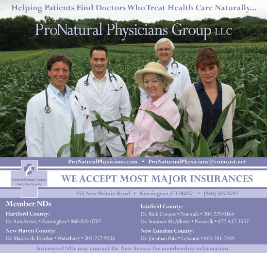 ProNatural Physicians Group Ad