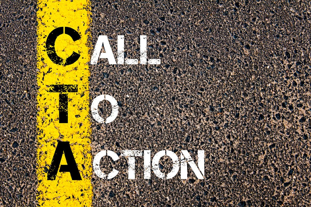 Call To Action for CT Web Design