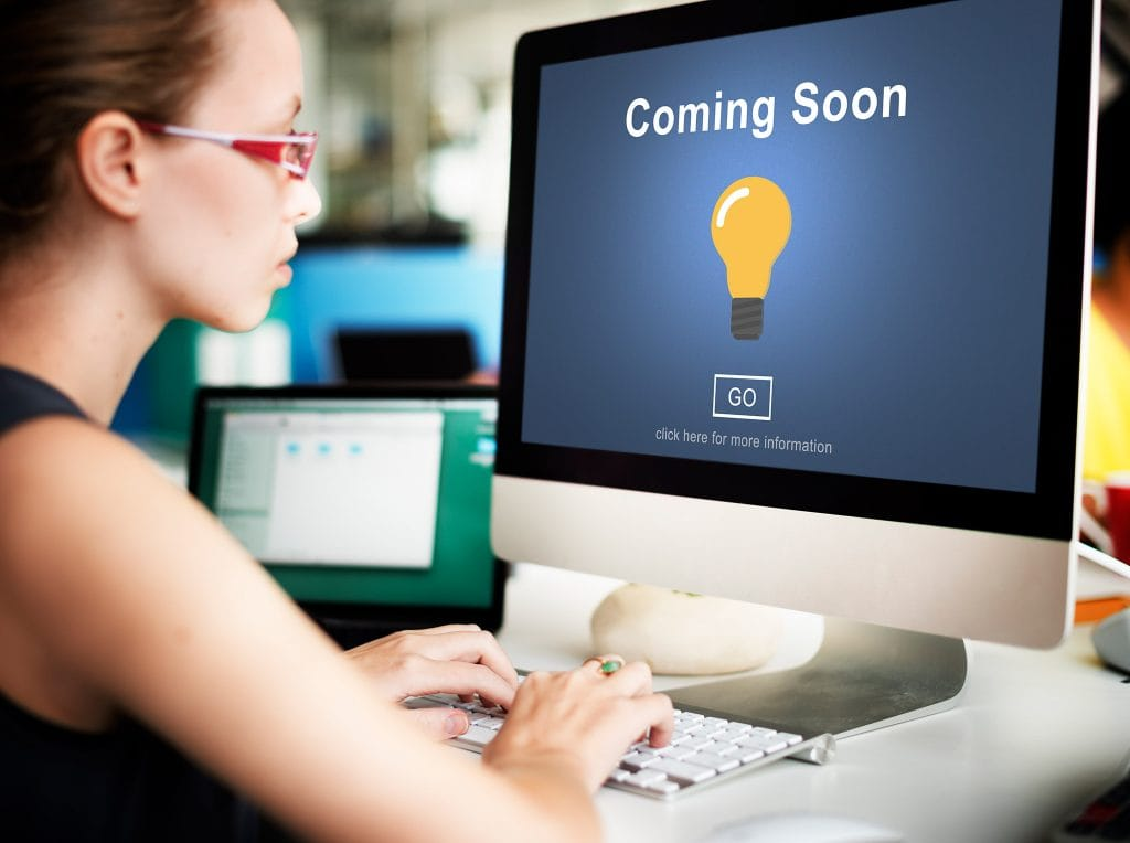 Coming Soon Page - Great Website Design First Steps
